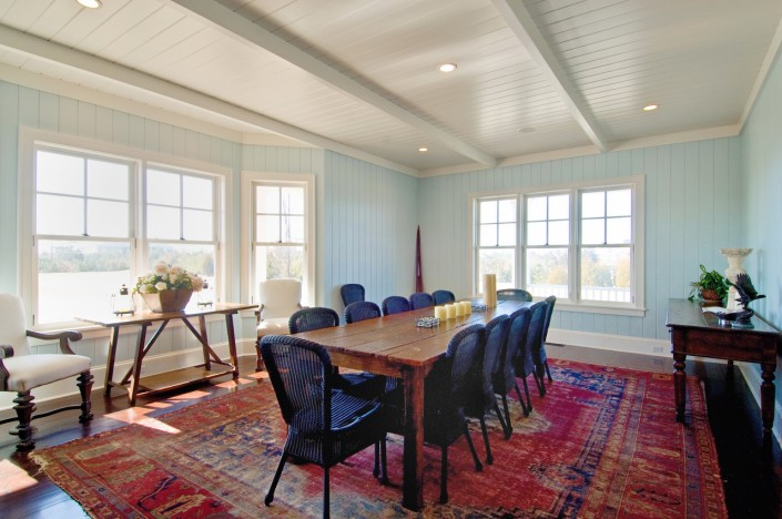 Hamptons Beach House Dining Room