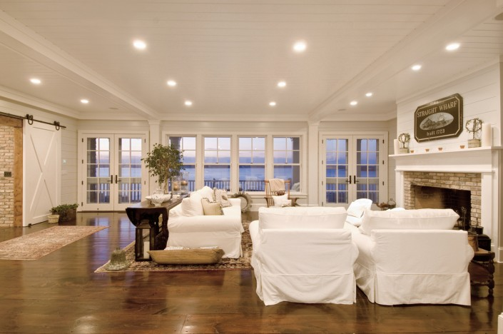 Hamptons Beach House Living Room