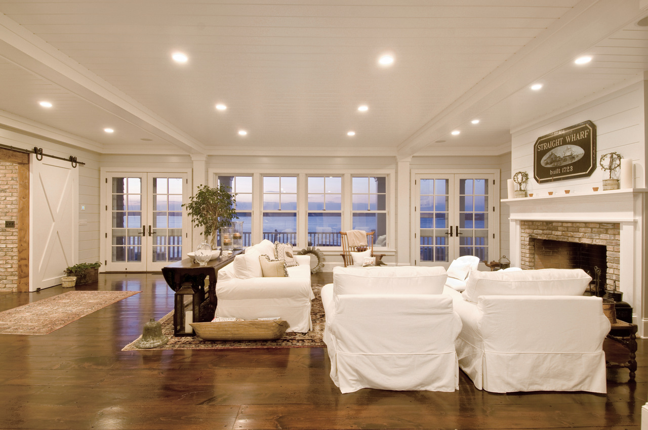 Hamptons Beach House Living Room - Hamptons Habitat