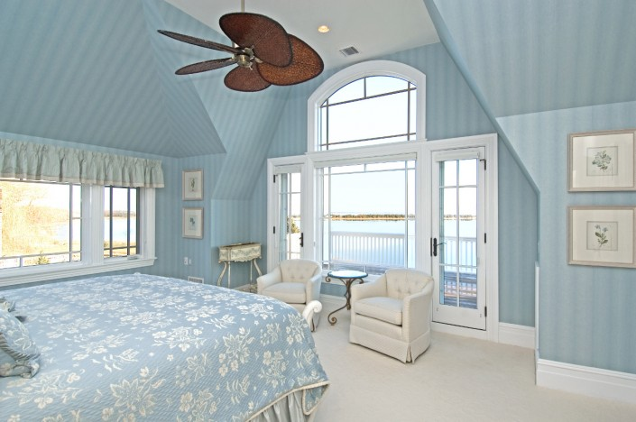 Bumblebee Manor - Blue Bedroom