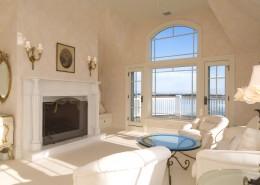 Bumblebee Manor - Master Bedroom Fireplace