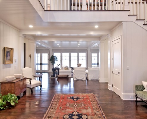 Hamptons Beach House Grand Foyer