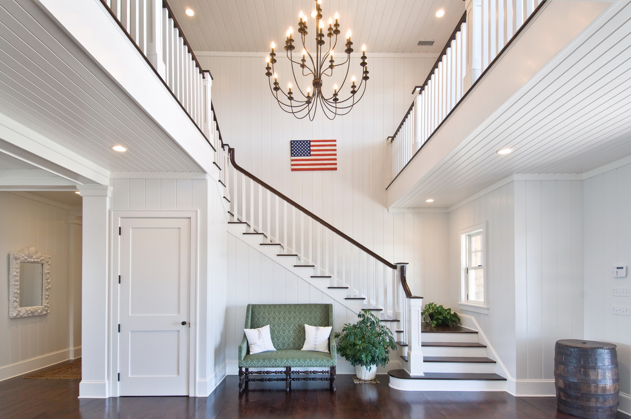 Grand Foyer In English : Grand foyer hamptons habitat
