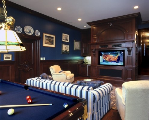 Hamptons Billiard & Media Room