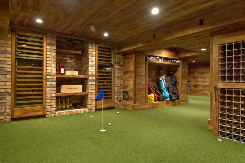 Hamptons Home with Wine Cellar Putting Green