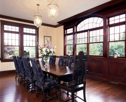 Hamptons Traditional Dining Room