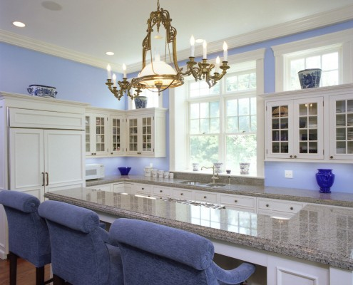 Traditional Hamptons Kitchen