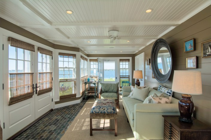 Hamptons Beach House Sunroom